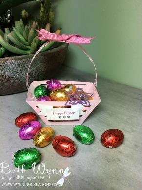 Easter Basket - Pink