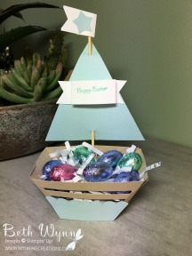 Easter Sail Boat