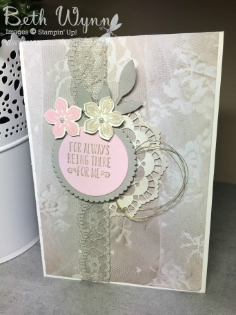 Mothers day card 2017 -Falling in Love DSP