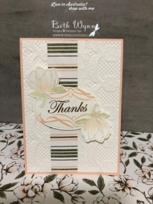 Magnolia Lane Dynamic Lace card